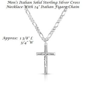Sterling Silver Cross w/Chain